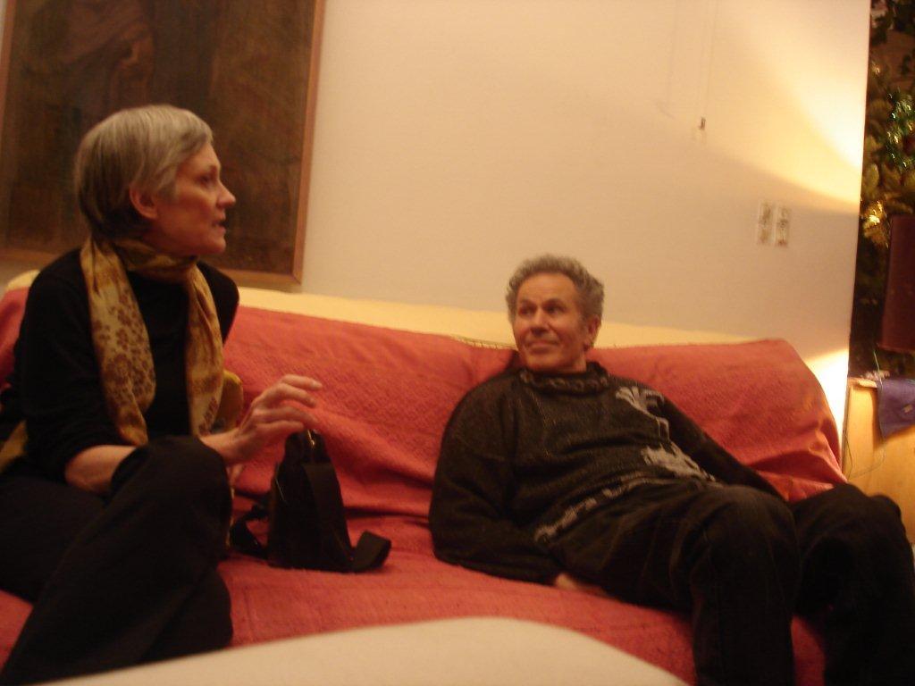 Francis Bérezné et Dominique Chauvin